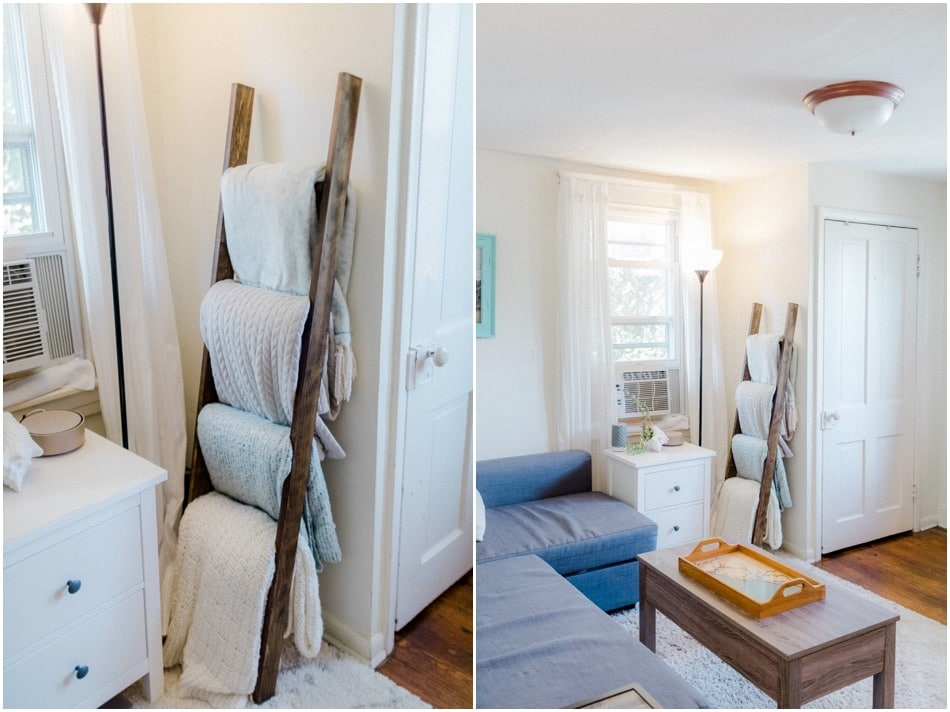 How we lived a 400 square foot apartment for five years