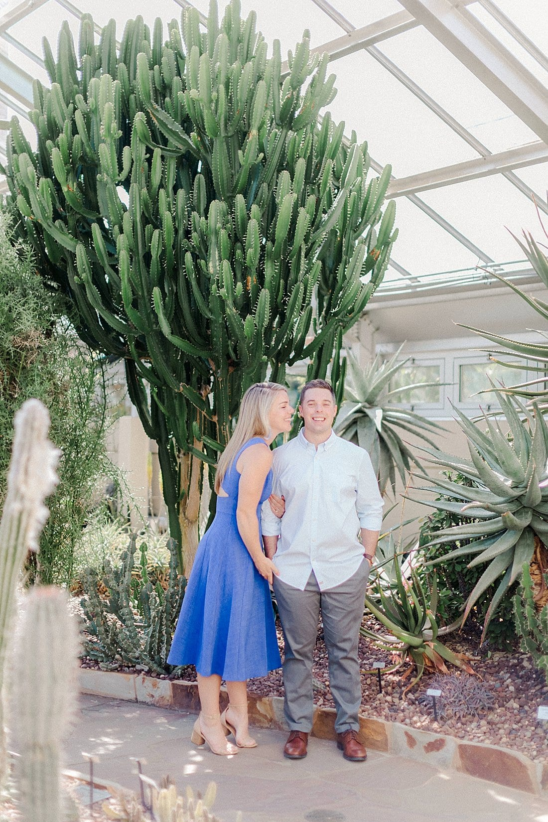 Rawlings Conservatory engagement session
